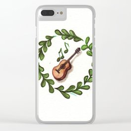 Music Heals Clear iPhone Case