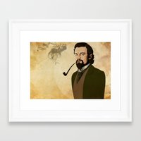 django Framed Art Prints featuring Django  by William Rutherford
