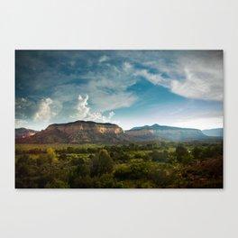 Laguna Mesa, Chama River Canyon Canvas Print