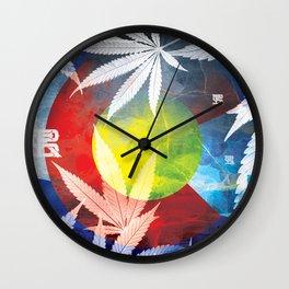 Colorado Kind Royal Stain Wall Clock