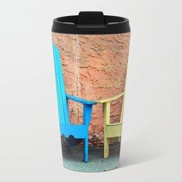 Sidewalk Chairs Travel Mug