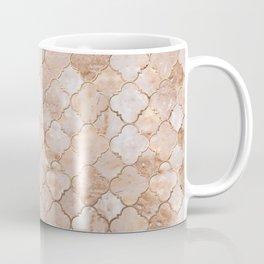 Quatrefoil Moroccan Pattern Pastel  Quartz Coffee Mug