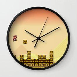 World 2-1 Wall Clock