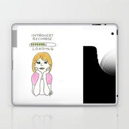 introvert loading Laptop & iPad Skin