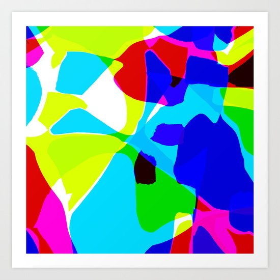 Abstracted in Time Art Print