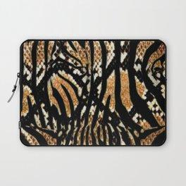 Zebra snake print Laptop Sleeve