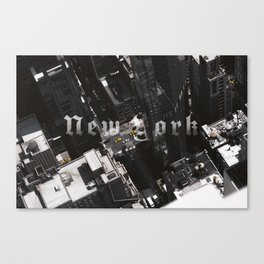 New York Top of The World Canvas Print