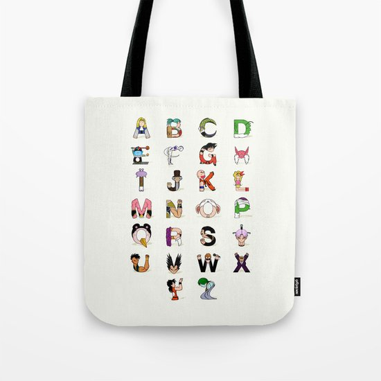 DB Alphabet Tote Bag