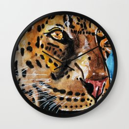 Leopord Wall Clock