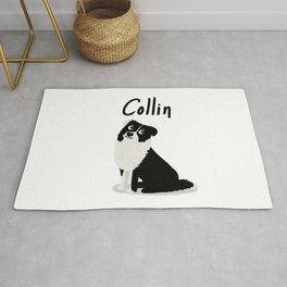 "Custom Dog Art ""Collin"" Rug"