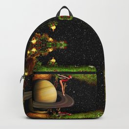 Diving To Another Dimension Backpack