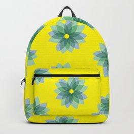 Geo Spring Flowers 02 Backpack