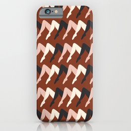 Leggy Guggenheim Sienna iPhone Case