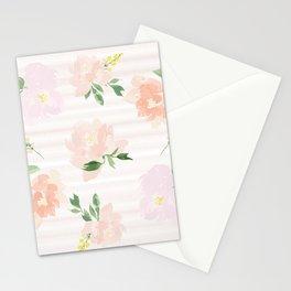 Gigi Collection - Peach Peony Stationery Cards