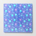 Lollipop And Candy Bright Blue Confection by patriciannek