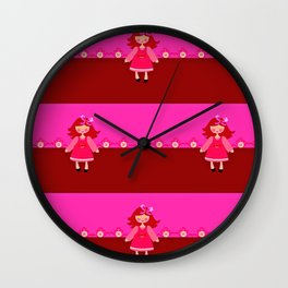 LuAnn Wall Clock