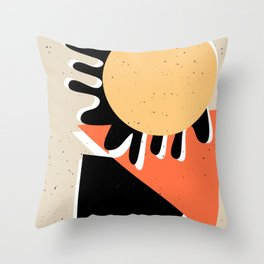 Stacking Shapes 02 Throw Pillow