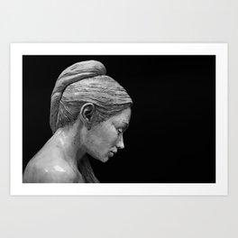 RK Sculpture Art Print