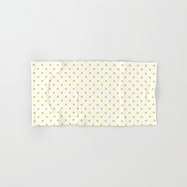 Dots (Gold/White) Hand & Bath Towel