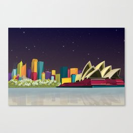 City Sydney Canvas Print