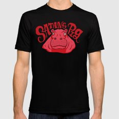 Satan's Pig Black Mens Fitted Tee SMALL