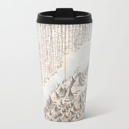 1855 chart of the worlds mountains and rivers Travel Mug