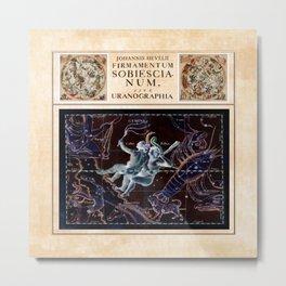 Hevelius Gemini Metal Print