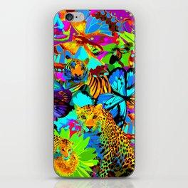 Pop Art Nature iPhone Skin