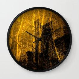 Ghost Castle Wall Clock