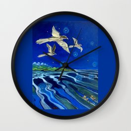Long-Tailed Cuckoo & The Explorers Wall Clock