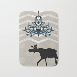 A Moose finds home Bath Mat