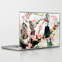 japanese Laptop & iPad Skins featuring Japanese 2  by Felicia Atanasiu