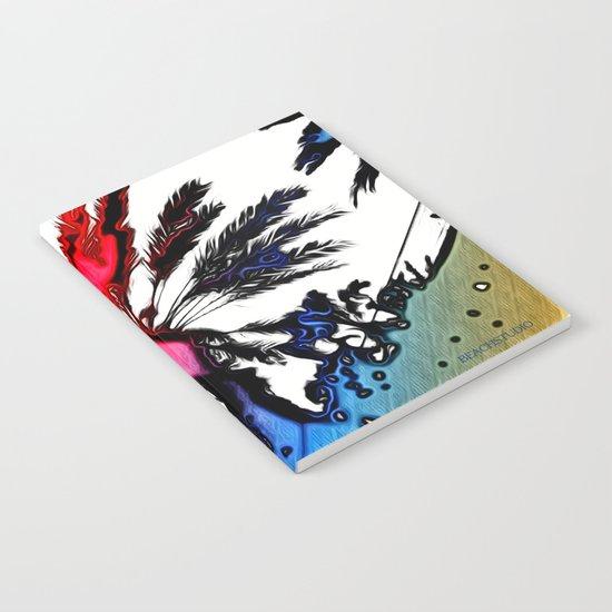 Fiery Palm Notebook