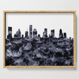 Houston Texas Skyline Serving Tray