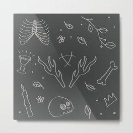 raven arcana Metal Print