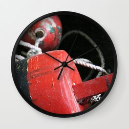 Nautical Crabbing Buoy Wall Clock
