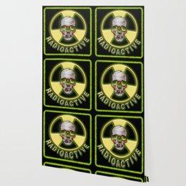 Radioactive Skull Wallpaper