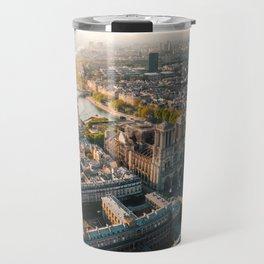 Notre Dame Rise Again Travel Mug