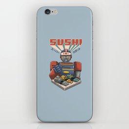 Super Sushi Robot iPhone Skin
