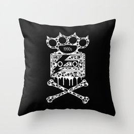 Alternative Rock Throw Pillow