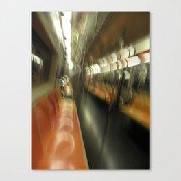 subway motion Canvas Print