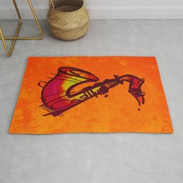 Sax Yellow Sound Rug