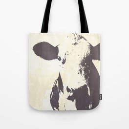 Rustic Cow Tote Bag