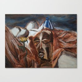 Mask Still-Life Canvas Print