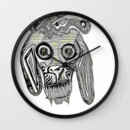 Mad Dog Wall Clock