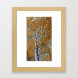 The World Above Framed Art Print