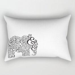 Ampersand Elephant Rectangular Pillow