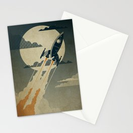 Night Launch Stationery Cards