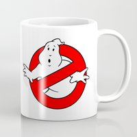 ghostbusters Mugs featuring ghostbusters by tshirtsz