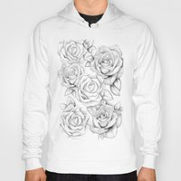roses Hoodies featuring roses by iphigenia myos
